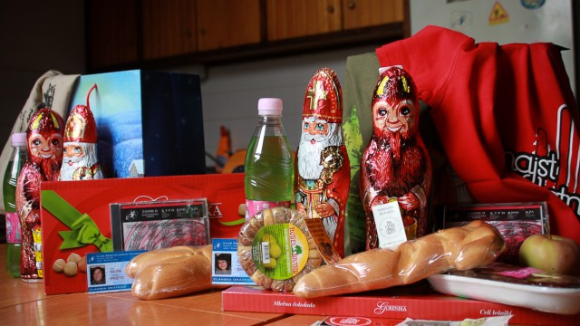 Happy like a child – presents from St. Nicola!