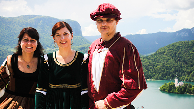 Dancing tour: Bled
