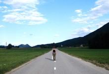 Walking to Medvode